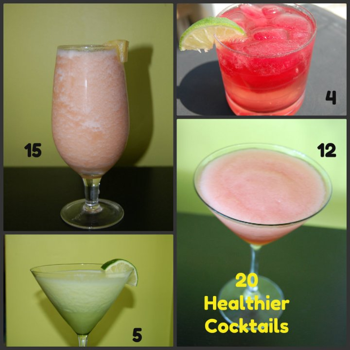 20 Healthy Cocktails