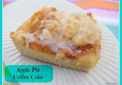 Apple Pie Coffee Cake