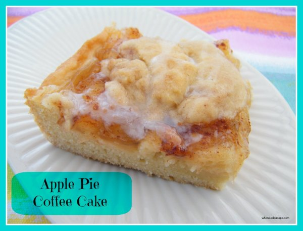 Apple Pie Coffee Cake | Who Needs A Cape?