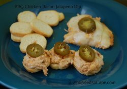 BBQ Chicken Bacon Jalapeno Dip