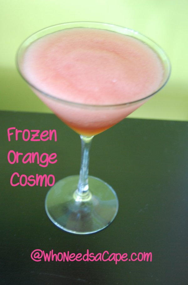 Frozen Orange Cosmo