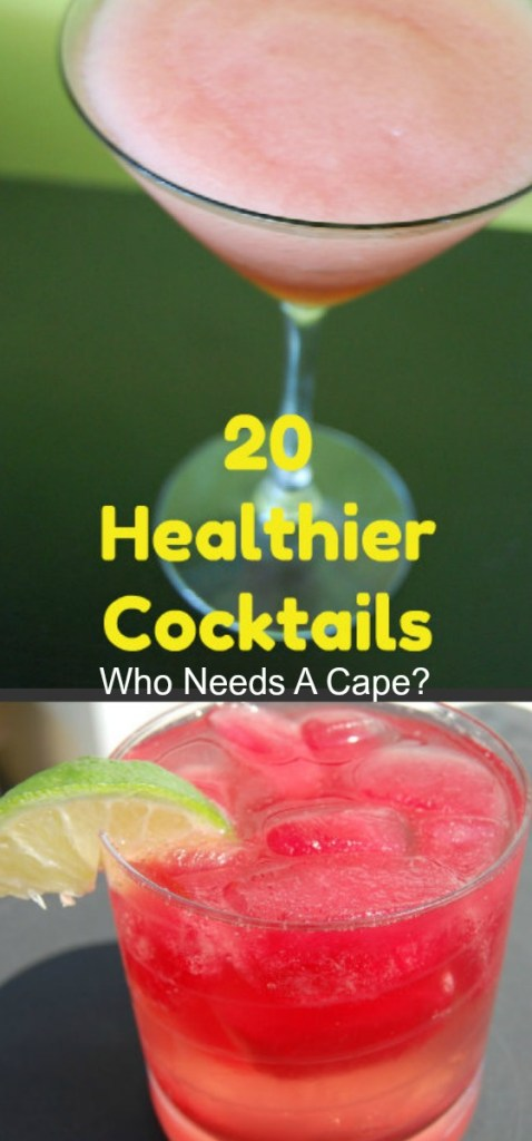 Get beach body ready while still enjoying a great tasting cocktail! Check out all of our 20 Healthier Cocktails and enjoy summer!