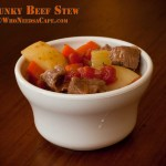 Slow Cooker Chunky Beef Stew
