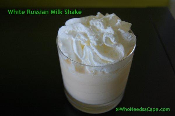 White Russian Milk Shake
