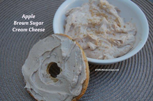 Apple Brown Sugar Cream Cheese