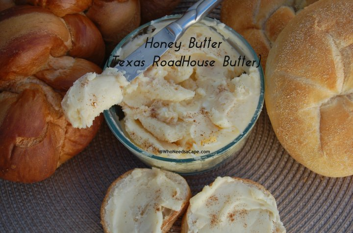 Get your biscuits ready! Make honey butter that tastes just like Texas Roadhouse Butter! It's quick, simple and wonderful.