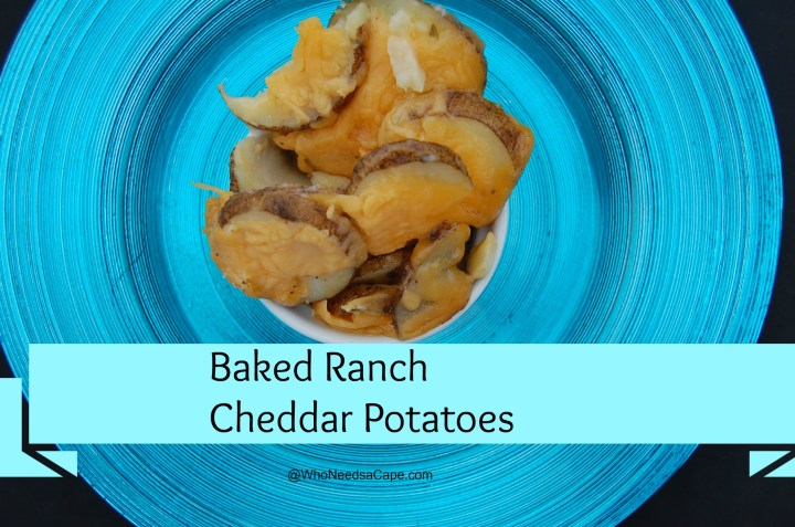 These Baked Cheddar Ranch Potatoes will make any meal complete. Full of flavor and not hard to make this is a great side dish!