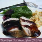 Brown Sugar & Balsamic Glazed Pork Loin