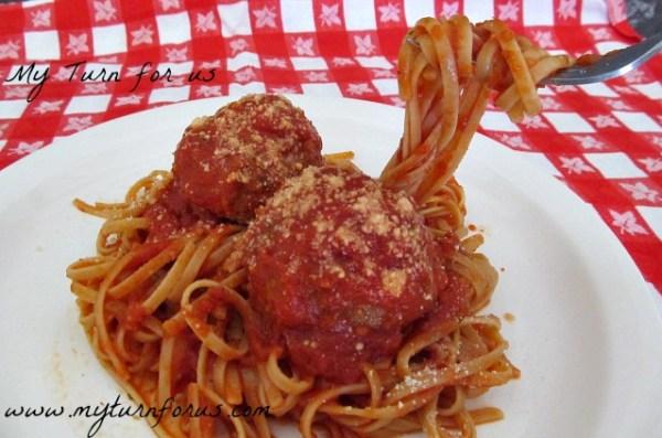 fork in Spagetti