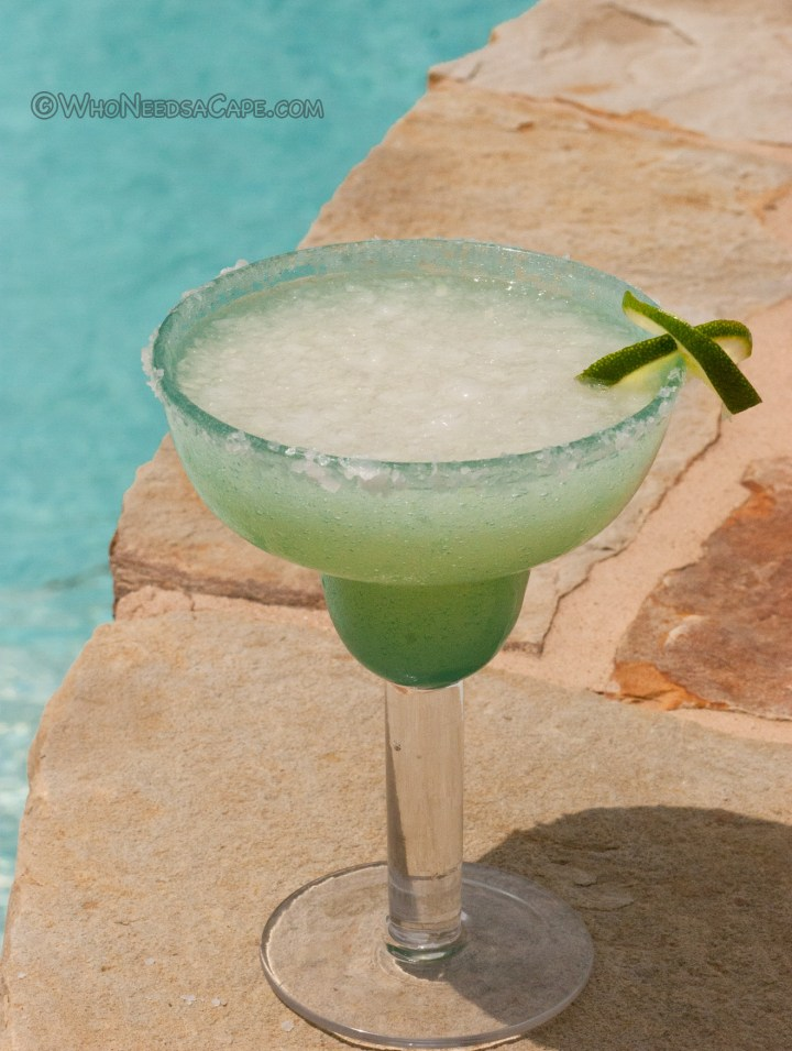 Perfect Summer Frozen Margarita | Who Needs A Cape?