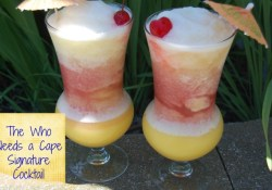 Throw Back Thursday ~ The Who Needs a Cape Signature Cocktail