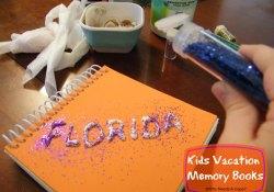 Kids Vacation Memory Books