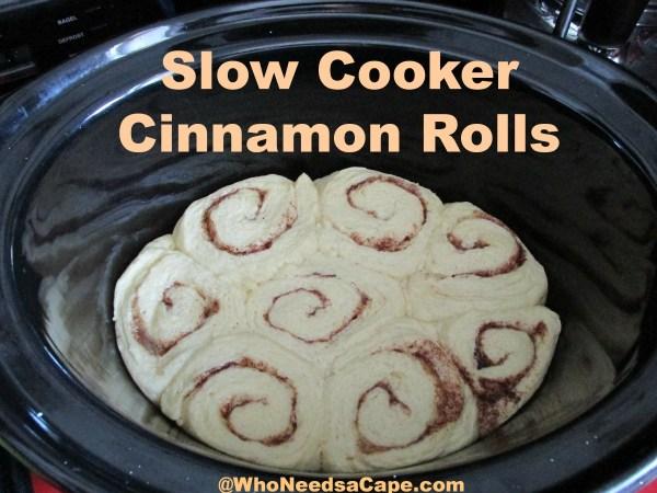 Risen Cinnamon Rolls