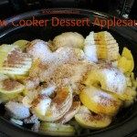 Slow Cooker Dessert Applesauce