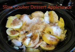 Slow Cooker Dessert Applesauce