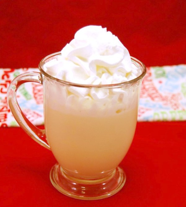 Eggnog White Hot Chocolate