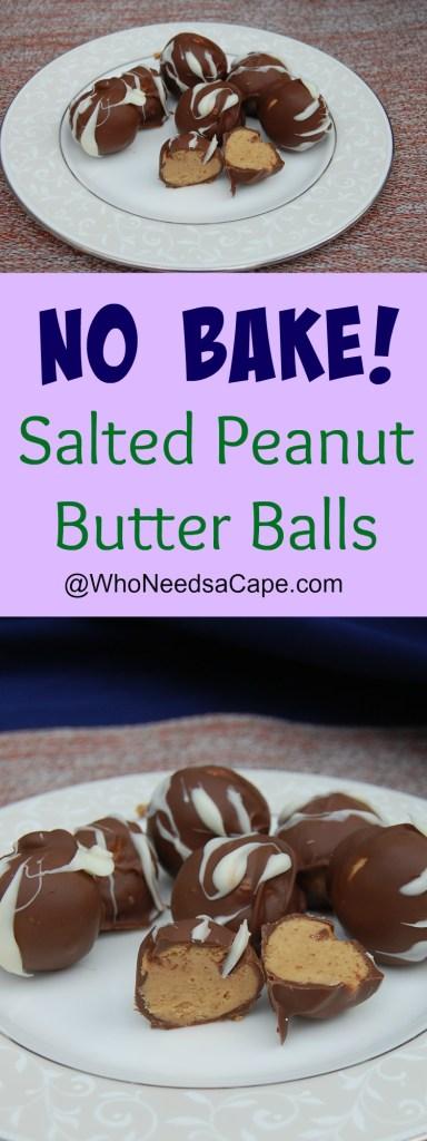 Salted Peanut Butter Balls 5