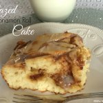 Glazed Cinnamon Roll Cake