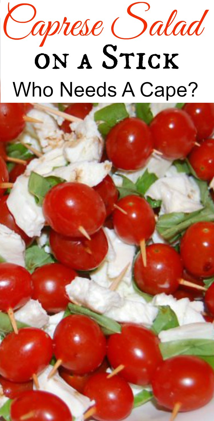 Caprese Salad on a Stick