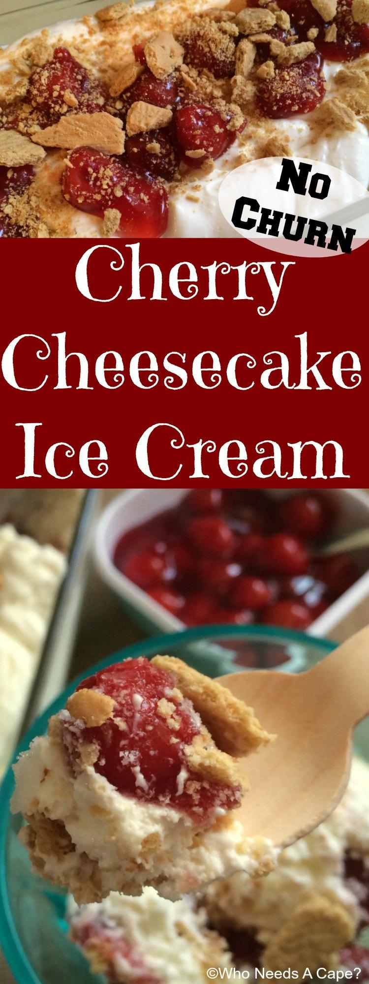 Cherry Cheesecake Ice Cream Sensitivesmiles