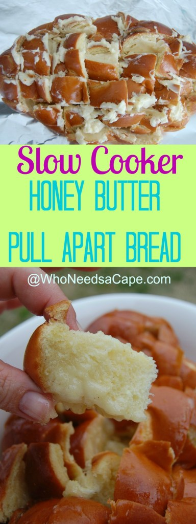 Honey Butter Pull Apart Bread Collage