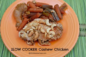 Slow Cooker Cashew Chicken2