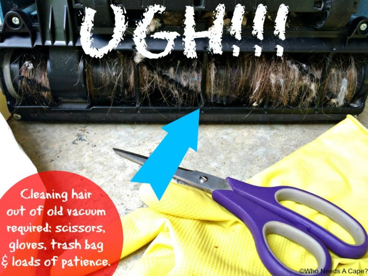 Tackle Hairy Messes in Your Home | Who Needs A Cape?