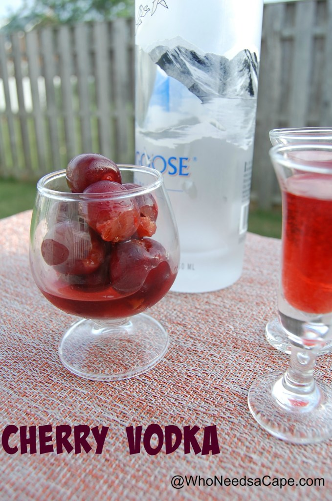 Cherry Infused Vodka is better homemade. You'll impress everyone with cocktails made with this amazing Vodka! Perfect for parties!