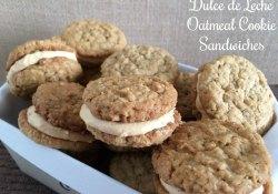 Dulce de Leche Oatmeal Cookie Sandwiches