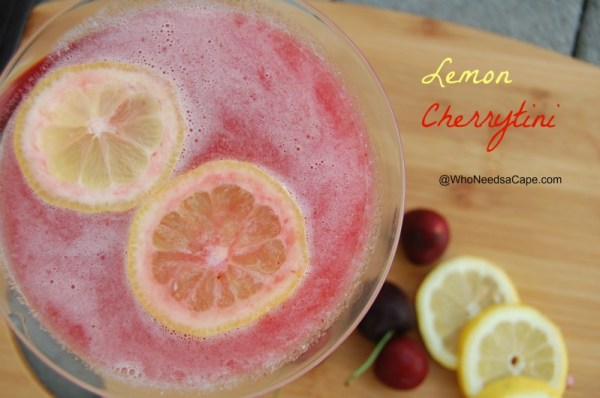 Lemon Cherrytini