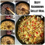 Beefy Hashbrown Skillet Meal