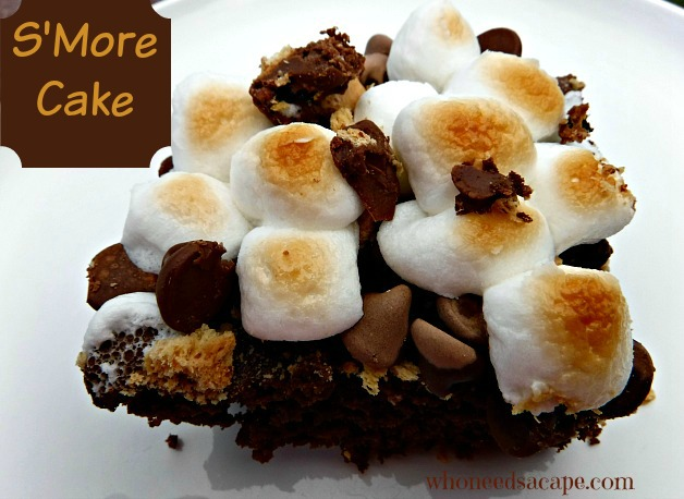 s'more cake 1