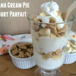 Banana Cream Pie Yogurt Parfait