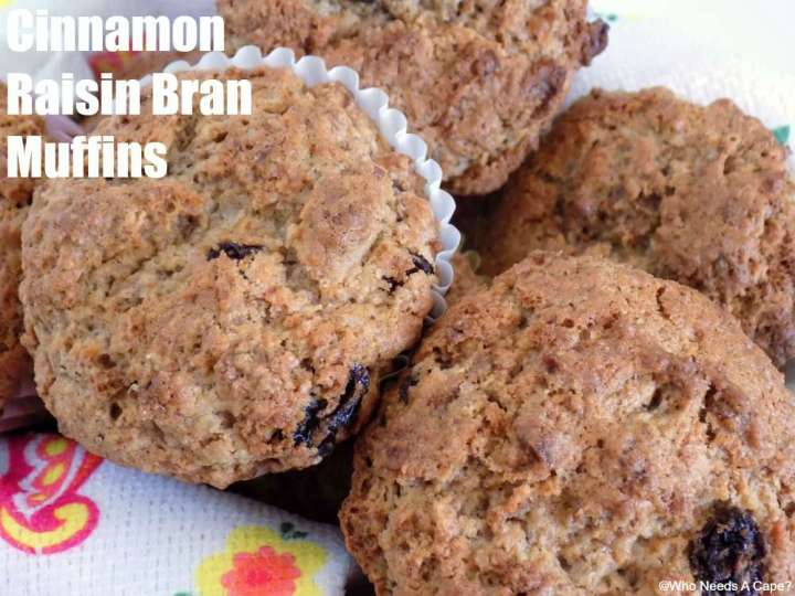 Delicious muffins for breakfast or snack that are so easy to make with a favorite breakfast cereal.
