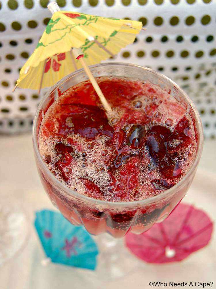 Summer Breezes Cherry Cocktail