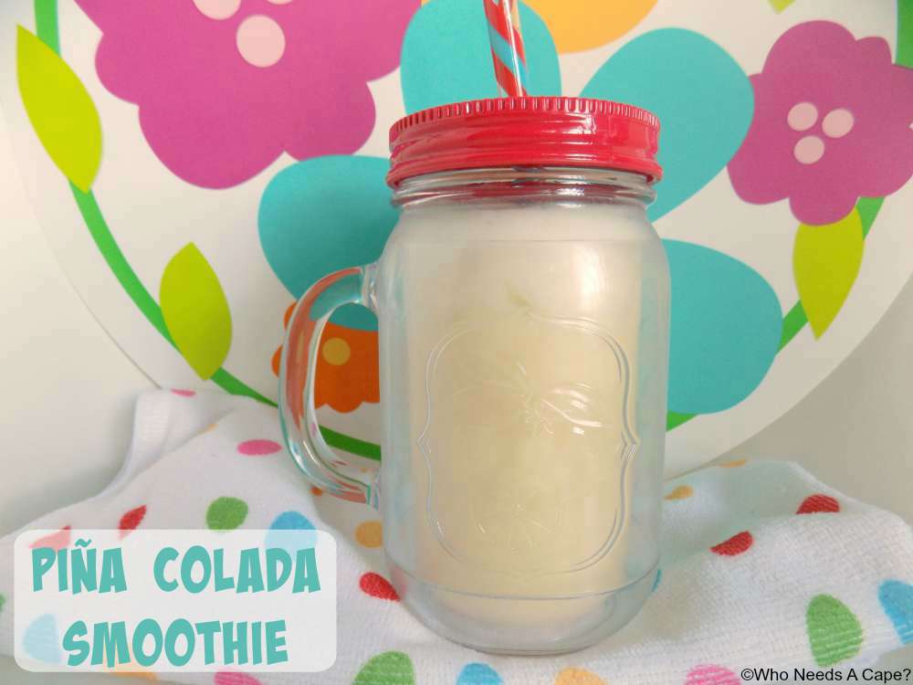 Deliciously easy tropical flavored smoothie perfect for busy mornings.