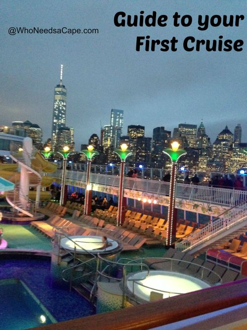 Guide to your first cruise 2