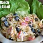 Orzo Ranch Pasta Salad