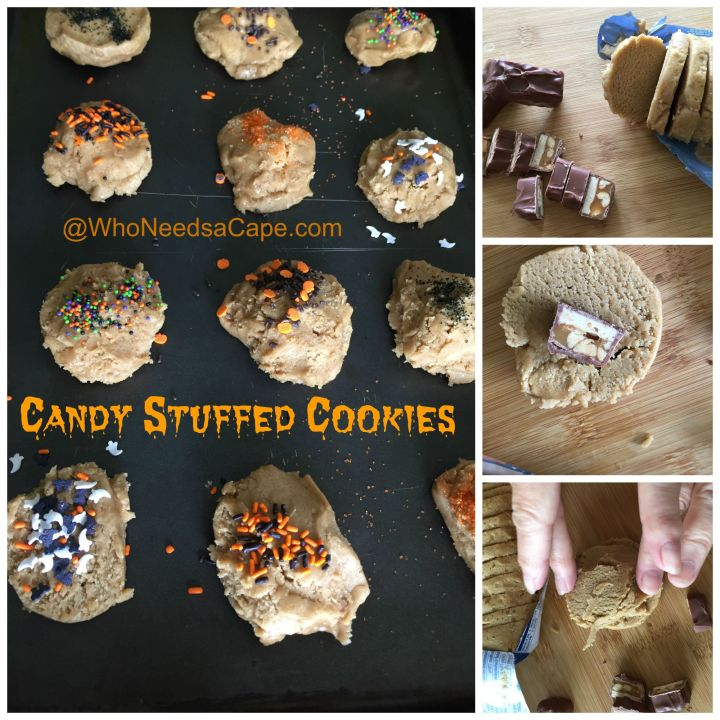 Candy Stuffed Cookies