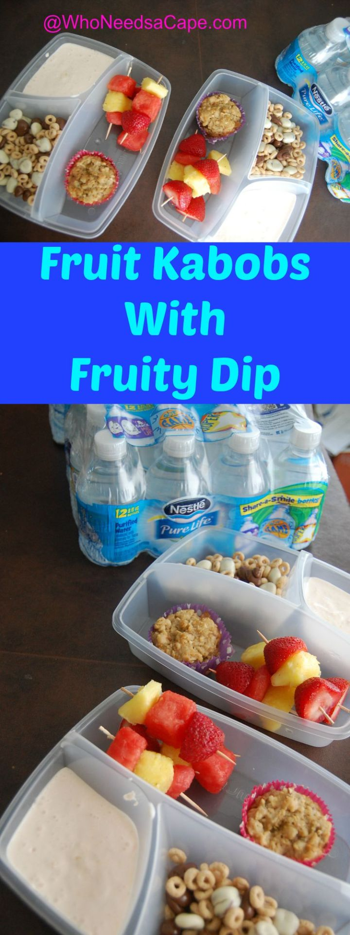 Fruit Kabobs with Fruity Dip 4