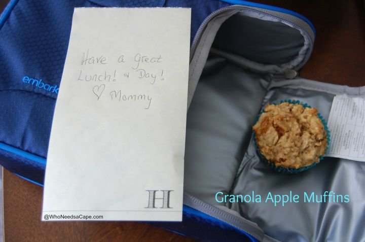 Granola Apple Muffins 1