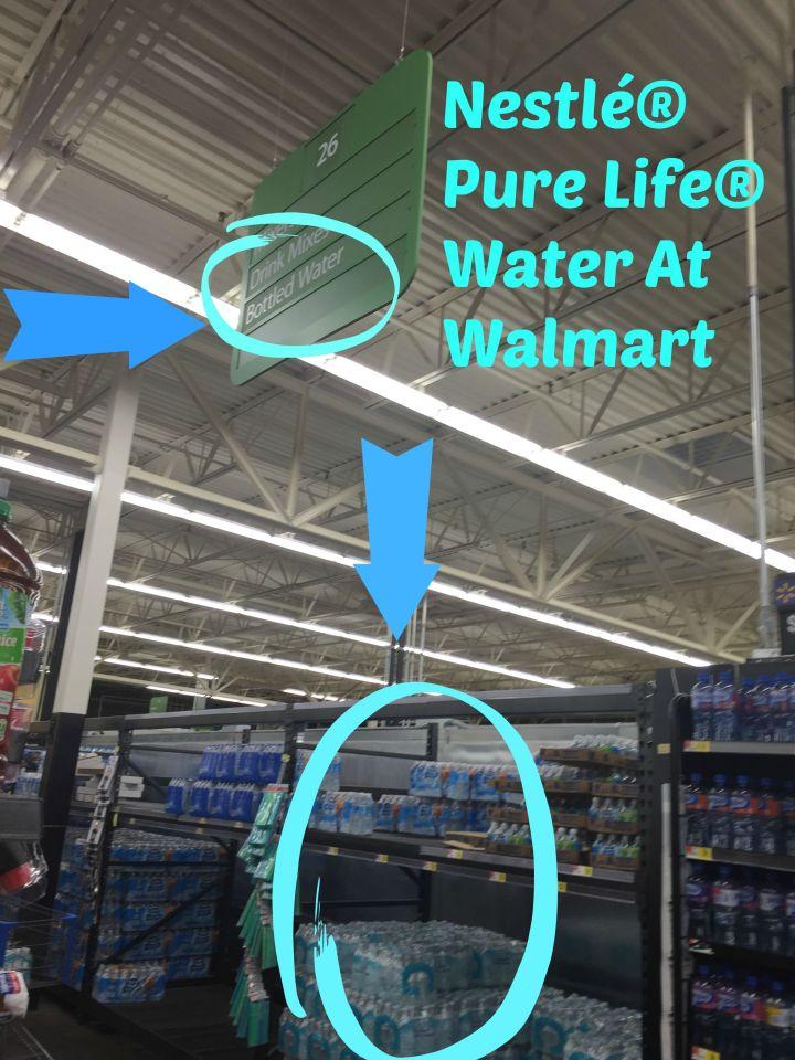 Nestlé® Pure Life® Water at walmart