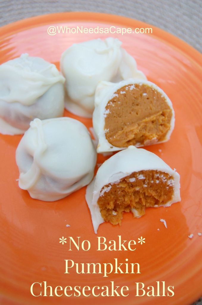 No Bake Pumpkin Cheesecake Balls are a delish alternative to the traditional pies. Wow your friends & family with these autumn dessert delights!