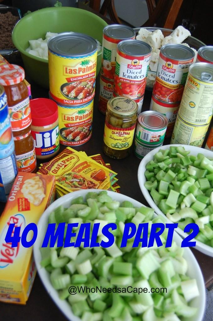 40 Meals Part 2 1
