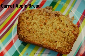 Carrot Apple Bread 1