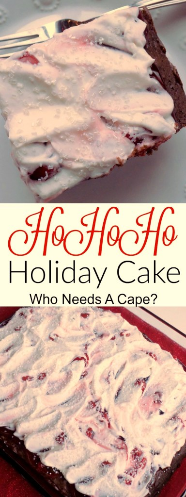 You're going to want to make this delish Ho Ho Ho Holiday Cake (with Cherries and Coke!) it's delish and everyone will love it