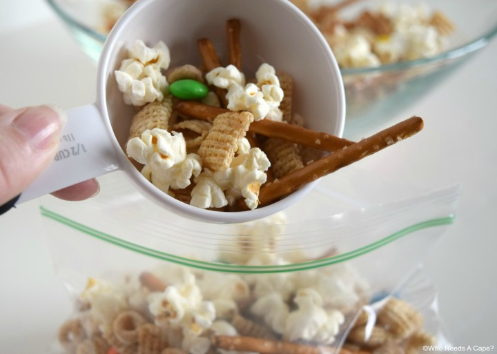 Make this easy to prepare Road Trip Snack Mix for your next family road trip. Loaded with delicious items, it'll save you from stopping for snacks.