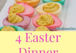 Easter Dinner Menus