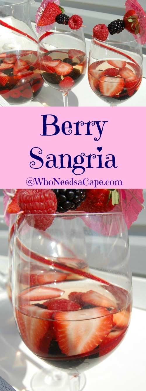 Serve Berry Sangria all summer - it's easy and so yum!
