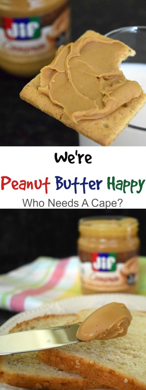 We're Peanut Butter Happy at our house! Everyone from the kids to mom & dad are loving breakfast, lunch & snacking with some yummy pantry items!